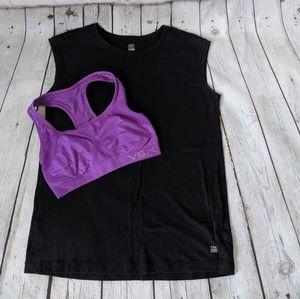 VSX Sport Bra & Muscle shirt set, Small 🏋️♀️🏃♀